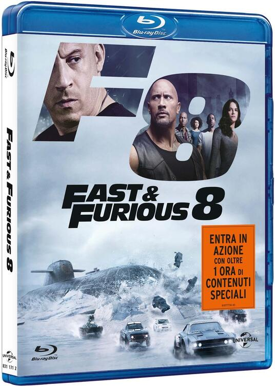Fast & Furious 8 (Blu-ray) di F. Gary Gray - Blu-ray