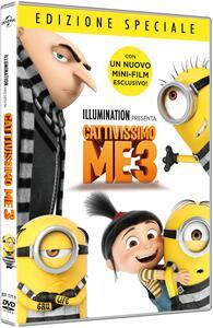 Cattivissimo Me 3 (DVD) di Pierre Coffin,Kyle Balda,Eric Guillon - DVD