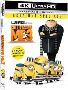 Film Cattivissimo Me 3 (Blu-ray + Blu-ray 4K Ultra HD) Kyle Balda Pierre Coffin Eric Guillon