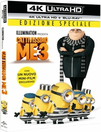 Cover Dvd Cattivissimo Me 3 (Blu-ray Ultra HD 4K)