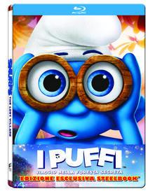 I Puffi: Viaggio nella foresta segreta. Con Steelbook di Kelly Asbury - Blu-ray