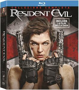 Resident Evil Ultimate Collection (6 Blu-ray) di Paul W.S. Anderson,Russell Mulcahy,Alexander Witt