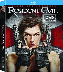 Resident Evil Ultimate Collection (6 Blu-ray) di Paul W.S. Anderson,Russell Mulcahy,Alexander Witt - 2
