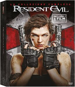 Resident Evil Ultimate Collection (6 DVD) di Paul W.S. Anderson,Russell Mulcahy,Alexander Witt