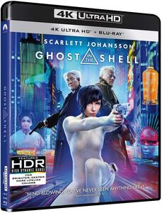 Film Ghost in the Shell (Blu-ray + Blu-ray 4K Ultra HD) Rupert Sanders