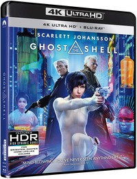 Cover Dvd Ghost in the Shell (Blu-ray Ultra HD 4K)
