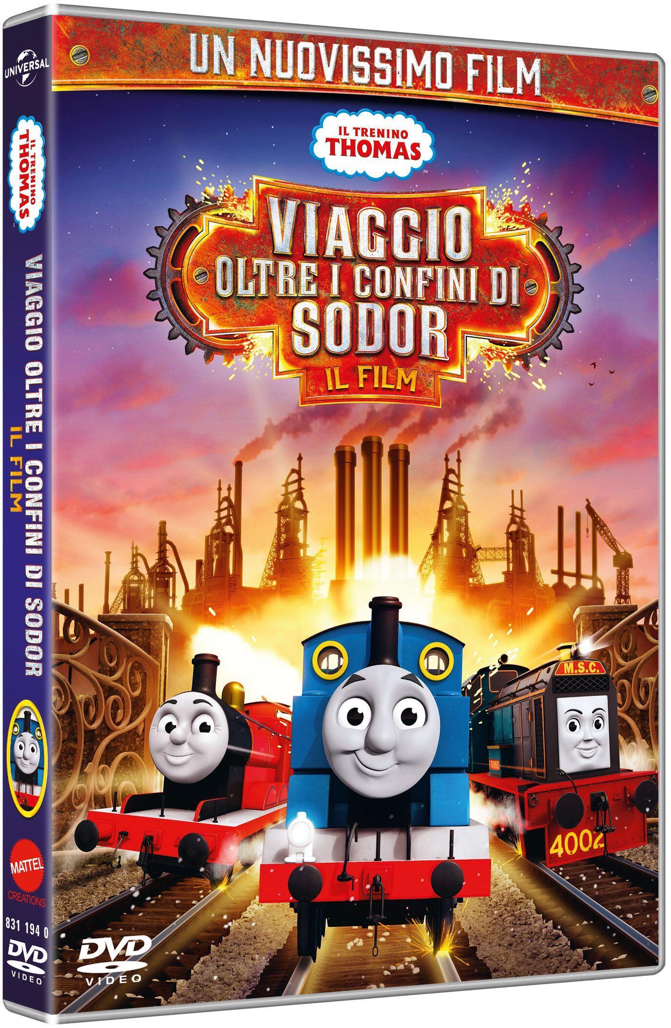 Dvd e blu ray film cartoni animati serie tv documentari ibs film il trenino thomas viaggio oltre i confini di sodor dvd fandeluxe Gallery