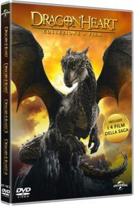 Dragonheart Collection 4 film (4 DVD) di Rob Cohen,Patrik Syversen,Colin Teague