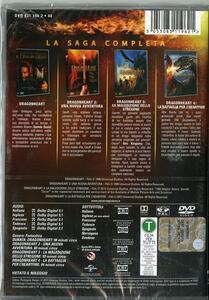 Dragonheart Collection 4 film (4 DVD) di Rob Cohen,Patrik Syversen,Colin Teague - 2