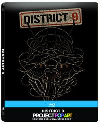 Cover Dvd District 9. Vietato ai non-umani. Con Steelbook