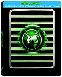 Cover Dvd The Green Hornet. Con Steelbook