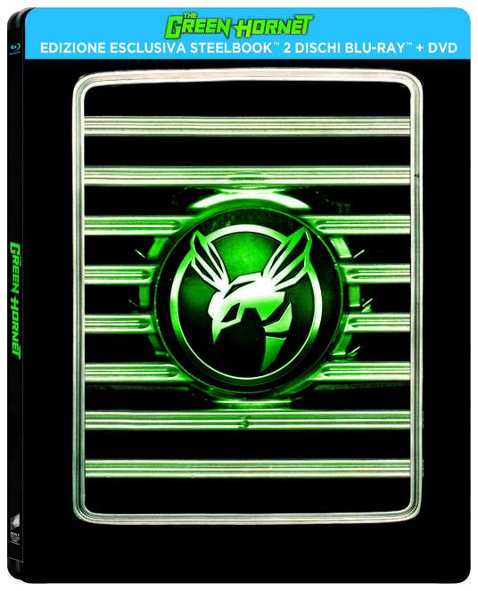 The Green Hornet. Con Steelbook (DVD + Blu-ray) di Michel Gondry - DVD + Blu-ray