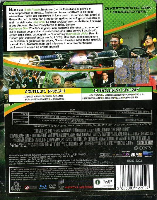 The Green Hornet. Con Steelbook (DVD + Blu-ray) di Michel Gondry - DVD + Blu-ray - 2