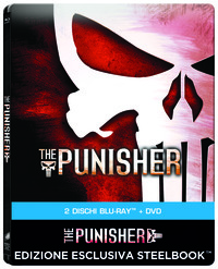 Cover Dvd The Punisher. Con Steelbook