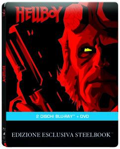 Hellboy. Con Steelbook (DVD + Blu-ray) di Guillermo Del Toro - DVD + Blu-ray