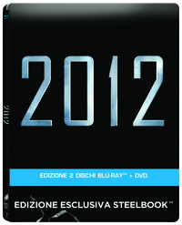 Cover Dvd 2012. Con Steelbook