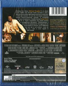 The Game. Nessuna regola. Edizione speciale 20° anniversario (Blu-ray) di David Fincher - Blu-ray - 2