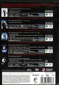 Underworld Collection 5 film (5 DVD) di Anna Foerster,Måns Mårlind,Björn Stein,Patrick Tatopoulos,Len Wiseman - 2