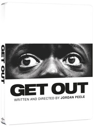 Cover Dvd Scappa. Get Out. Con Steelbook