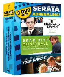 Moneyball - Maledetto United - Tempo di vincere (DVD) di Brad Pitt,Jonah Hill,Philip Seymour Hoffman,Robin Wright,Chris Pratt,Colm Meaney,Jim Caviezel,Michael Chiklis,Alexander Ludwig,Clancy Brown,Laura Dern,Matthew Daddario,Henry Goodman,David Roper