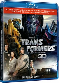 Cover Dvd Transformers. L'ultimo cavaliere (Blu-ray 3D)