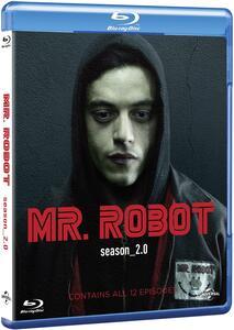 Film Mr. Robot. Stagione 2. Serie TV ita (4 Blu-ray) Sam Esmail Jim McKay Tricia Brock