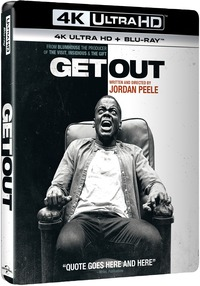 Cover Dvd Scappa. Get Out (Blu-ray Ultra HD 4K)