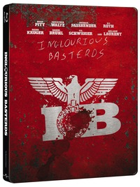 Cover Dvd Bastardi senza gloria. Con Steelbook