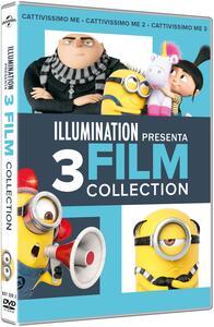 Film Cattivissimo Me. 3 Movies Collection (3 DVD) Kyle Balda Pierre Coffin Eric Guillon Chris Renaud