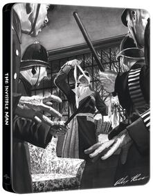 L' uomo invisibile. Con Steelbook di James Whale - Blu-ray