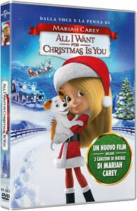 Mariah Carey. All I Want for Christmas Is You (DVD) - DVD