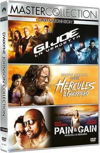 Dwayne Johnson Master Collection. G.I. Joe. La vendetta - Hercules - Pain and Gain (3 DVD) di Michael Bay,Jon Chu,Brett Ratner