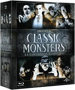 Classic Monster Box Set (7 Blu-ray) di Jack Arnold,Tod Browning,Karl Freund,George Waggner,James Whale
