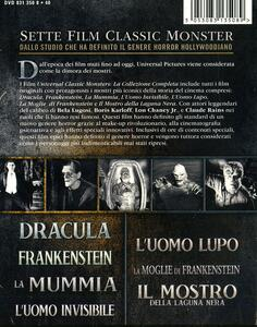 Classic Monster Box Set (7 Blu-ray) di Jack Arnold,Tod Browning,Karl Freund,George Waggner,James Whale - 2