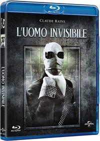 Cover Dvd L' uomo invisibile (Blu-ray)