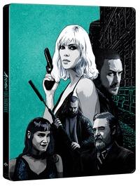 Cover Dvd Atomica bionda. Con Steelbook (Blu-ray)