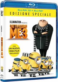 Cover Dvd Cattivissimo Me 3 (Blu-ray 3D)