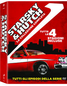 Film Starsky & Hutch. Stagioni 1 - 4. Serie TV ita (20 DVD) William Blinn