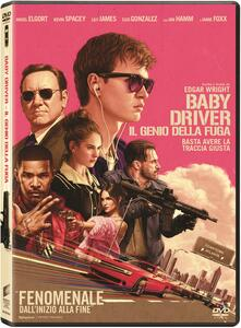 Baby Driver. Il genio della fuga (DVD) di Edgar Wright - DVD