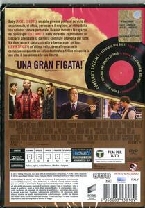 Baby Driver. Il genio della fuga (DVD) di Edgar Wright - DVD - 2