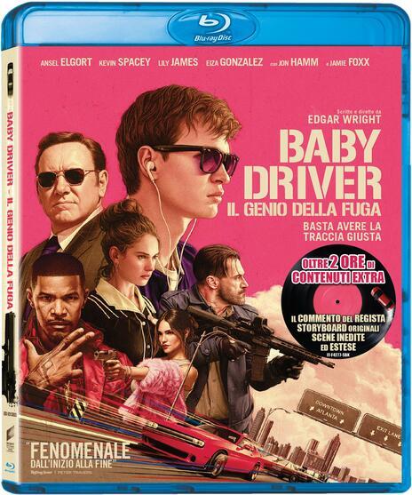 Baby Driver. Il genio della fuga (Blu-ray) di Edgar Wright - Blu-ray