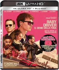Cover Dvd Baby Driver. Il genio della fuga (Blu-ray Ultra HD 4K)