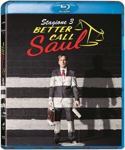 Film Better Call Saul. Stagione 3. Serie TV ita (3 Blu-ray) Colin Bucksey Adam Bernstein Vince Gilligan