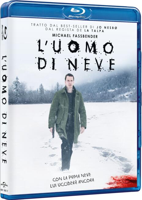 L' uomo di neve (Blu-ray) di Tomas Alfredson - Blu-ray