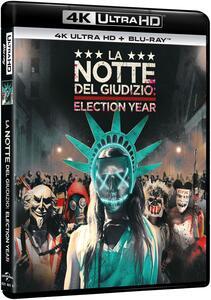 La notte del giudizio. Election year (Blu-ray + Blu-ray 4K Ultra HD) di James DeMonaco