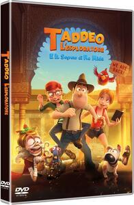 Taddeo l'esploratore e il segreto di re Mida (DVD) di Enrique Gato,David Alonso - DVD