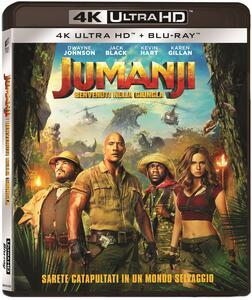Jumanji. Benvenuti nella giungla (Blu-ray Ultra HD 4K) di Jake Kasdan