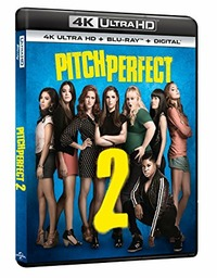 Cover Dvd Pitch Perfect 2 (Blu-ray + Blu-ray Ultra HD 4K)