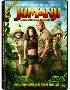 Jumanji. Benvenuti nella giungla (DVD) di Jake Kasdan - DVD