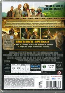 Jumanji. Benvenuti nella giungla (DVD) di Jake Kasdan - DVD - 2